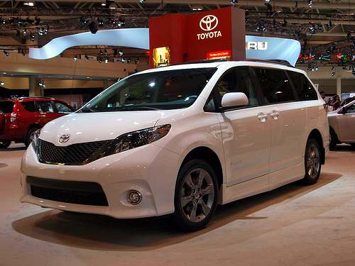 The Toyota Sienna has a reputation for being one of the best vans in America, and also happens to be manufactured in the country.