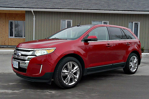 The cheapest car to insure in America in 2013 is the Ford Edge, a mid-size crossover.
