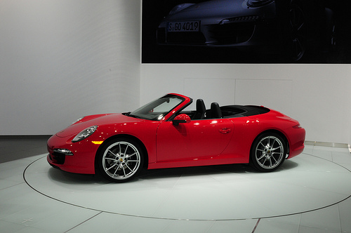 Porsche 911 Cabriolet, one of the most expensive cars to insure - though it's not Mercedes-Benz.