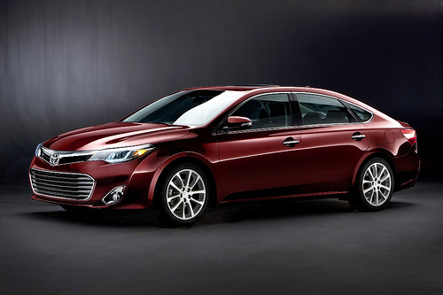 The Toyota Avalon is made in America with more American parts and labor than any other car.