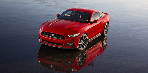 The 2015 Ford Mustang has a slimmer redesign that aims to regain some market share in the competitive muscle car market.