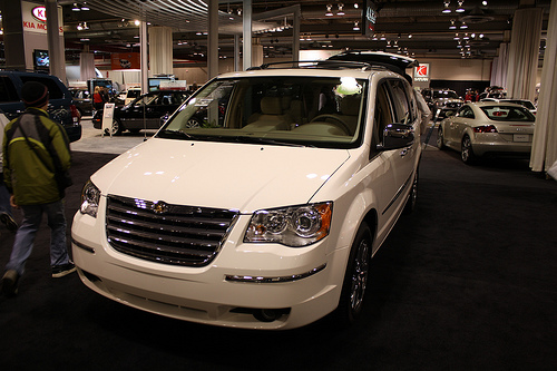 The Chrysler Town and Country is one of the top 5 family cars thanks to its spacious interior and plethora of features.