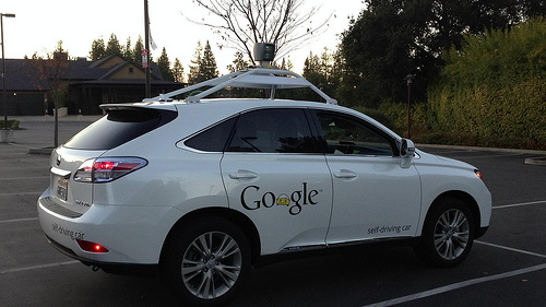 Google's self-driving car is really just a highly modified Toyota Prius.
