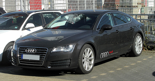 Audi is currently experimenting with self-parking technology in its $60,000 plus car the A7.