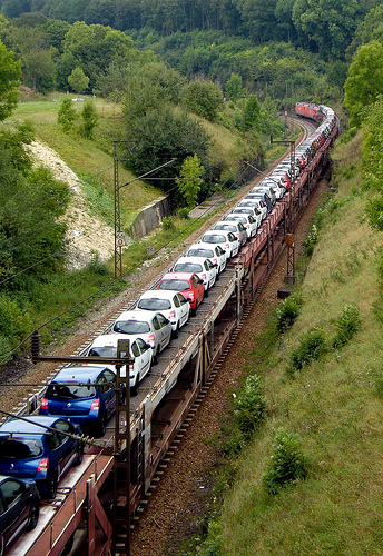 Shipping Vehicles By Train