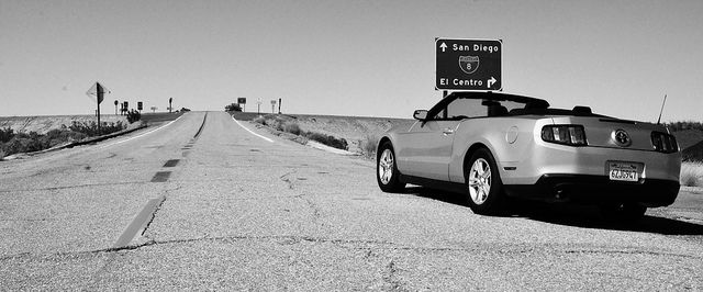 The Ford Mustang Convertible is one of the best summer road trip cars.