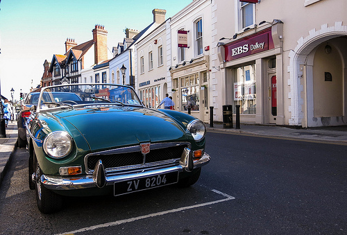 The MG MGB (or the Midget) is a somewhat unusual fixer upper car that has wide parts availability and is affordable.