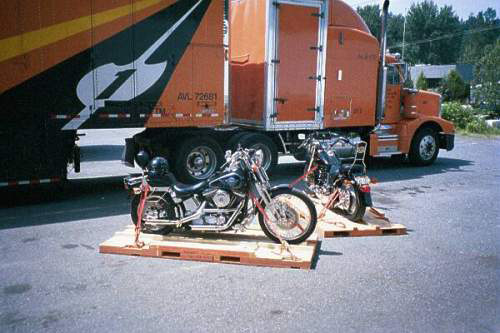 Motorcycle Shipping Pallets
