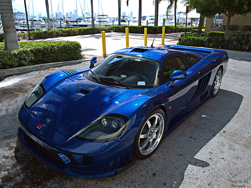 The Saleen S7 Twin Turbo, one of the most affordable cars that rank among the quickest on the road