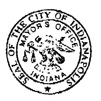 Indianapolis Indiana Seal