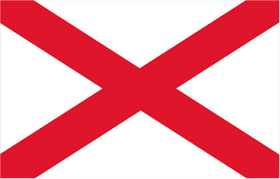 State of Alabama Official Flag
