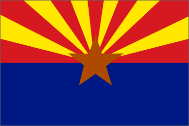 State of Arizona Official Flag