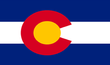 State of Colorado Official Flag