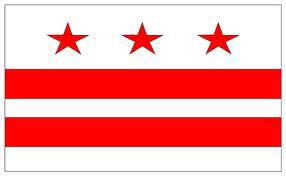 State of DC Official Flag