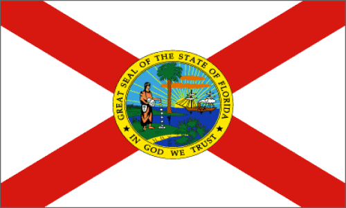 State of Florida Official Flag
