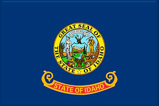 State of Idaho Official Flag
