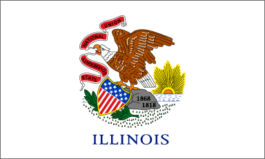 State of Illinois Official Flag