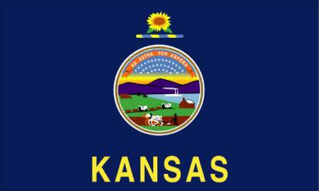 State of Kansas Official Flag
