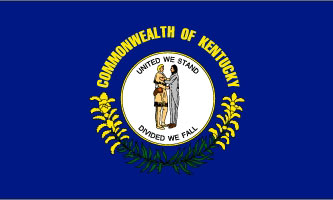State of Kentucky Official Flag
