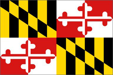 State of Maryland Official Flag
