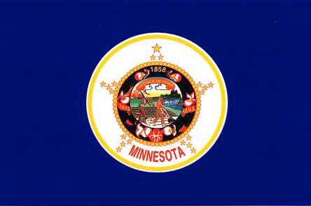 State of Minnesota Official Flag
