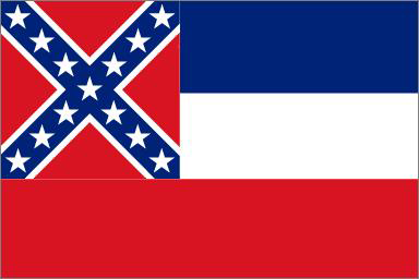 State of Mississippi Official Flag