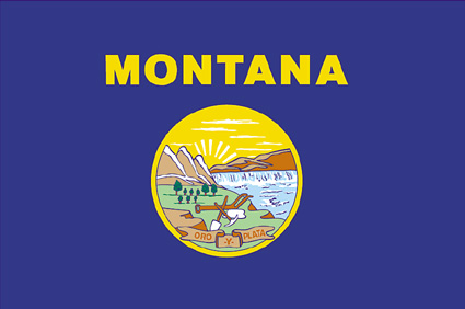 State of Montana Official Flag