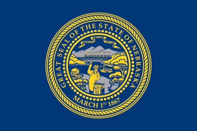State of Nebraska Official Flag