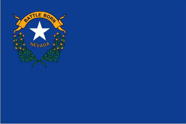 State of Nevada Official Flag