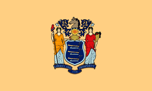 State of New Jersey Official Flag