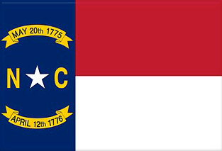 State of North Carolina Official Flag