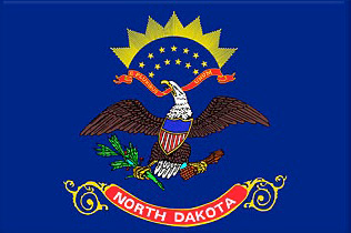 State of North Dakota Official Flag