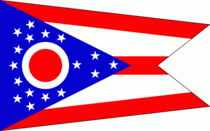 State of Ohio Official Flag