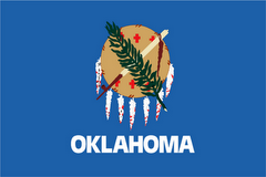 State of Oklahoma Official Flag