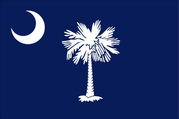 State of South Carolina Official Flag