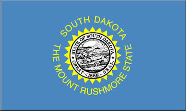 State of South Dakota Official Flag