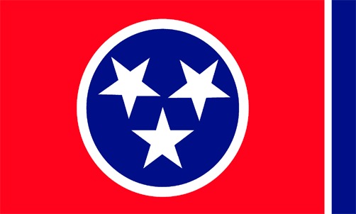State of Tennessee Official Flag