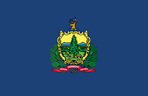State of Vermont Official Flag