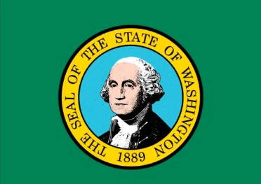 State of Washington Official Flag