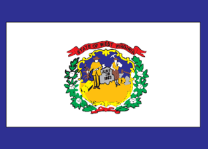 State of West Virginia Official Flag