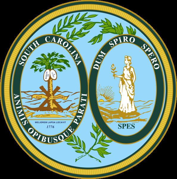 State Seal of South Carolina